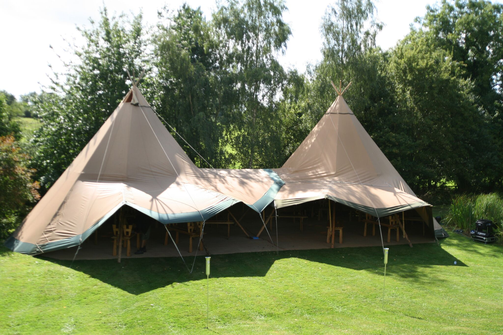 prices for tipi and bell tent hire in lincolnshire