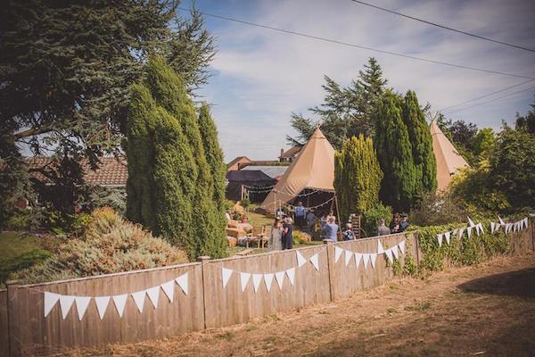tipi tent marquee hire in boston lincolnshire
