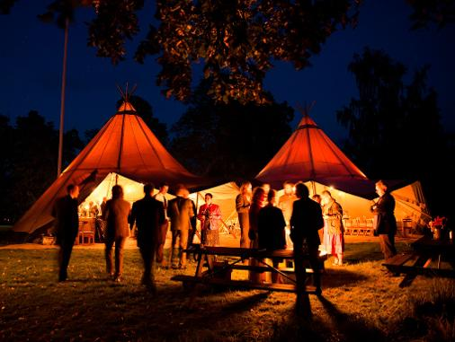 TIPI MARQUEE HIRE IN LINCOLNSHIRE